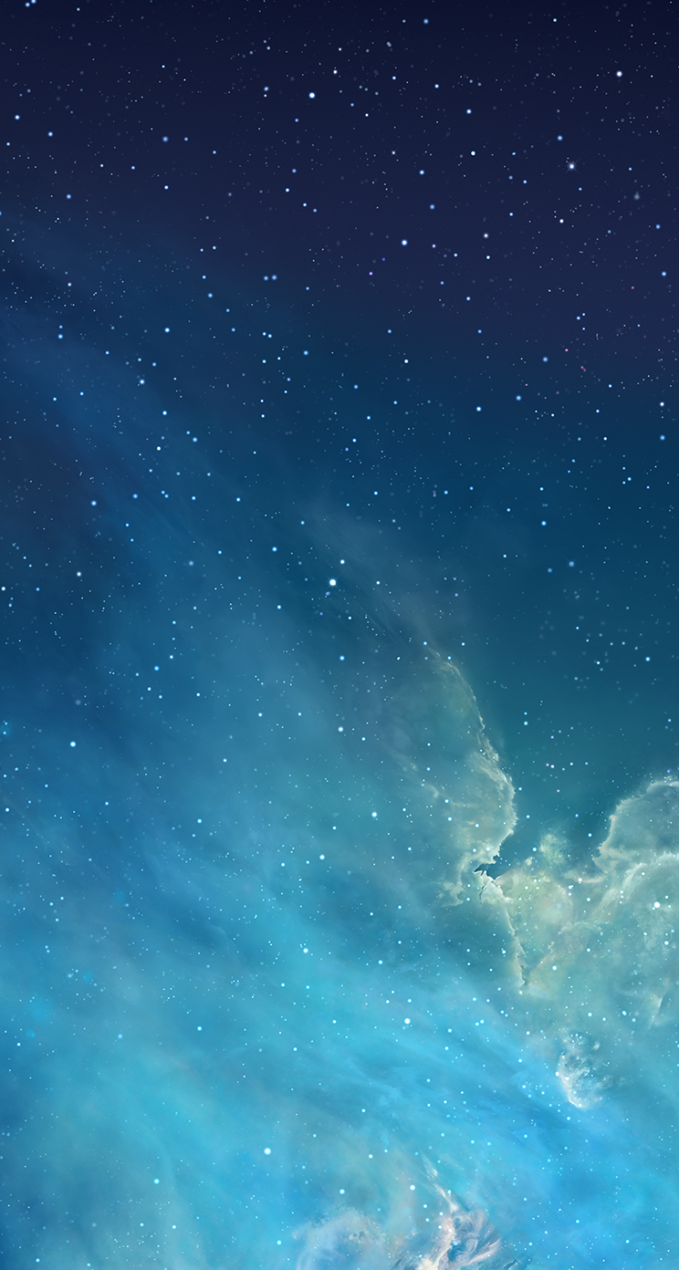 youd like a quick way to download all of the new iOS 7 wallpapers 744x1392