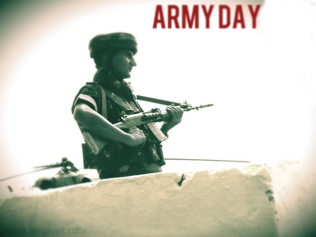 Army Day Soldier On Duty Picture 1024x768