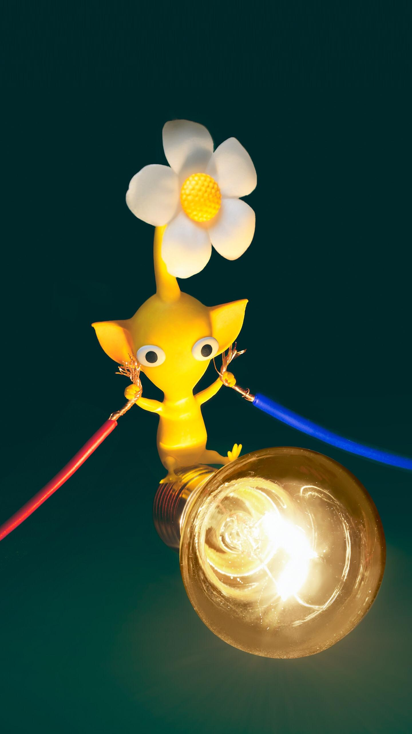 Yellow Pikmin Wallpaper from My Nintendo Pikmin 1440x2560