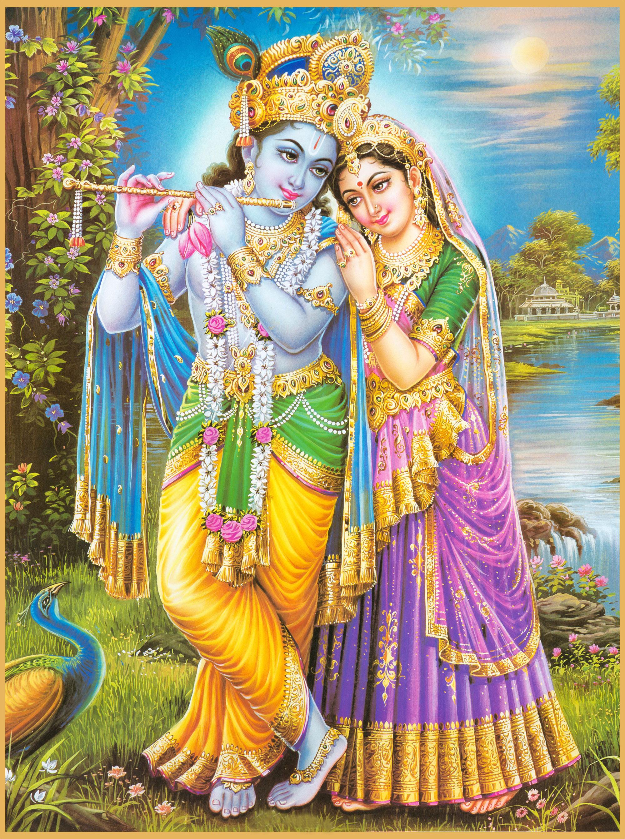 Krishna Radha Love Wallpaper Lord Krishna an...