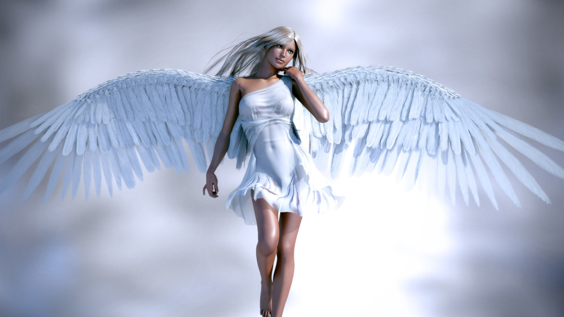 free 1920X1080 Angel 3D 1920x1080 wallpaper screensaver preview id 1920x1080