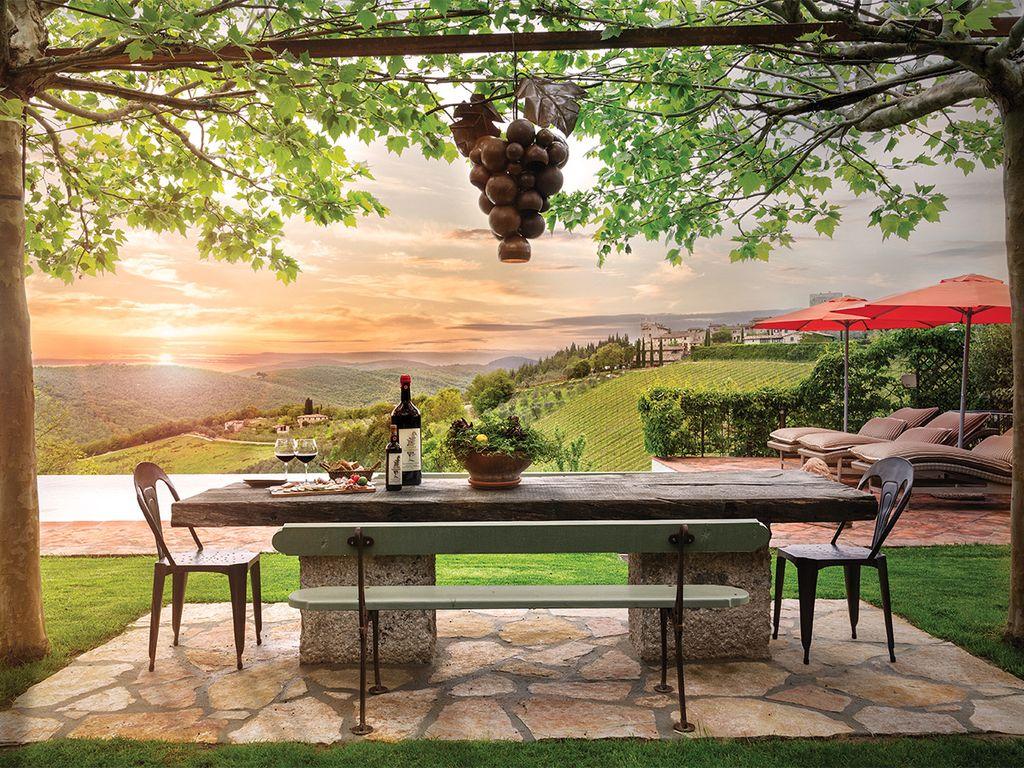 Cuve Tuscan Farmhouse Luxury Restored 16th Century Chianti 1024x768