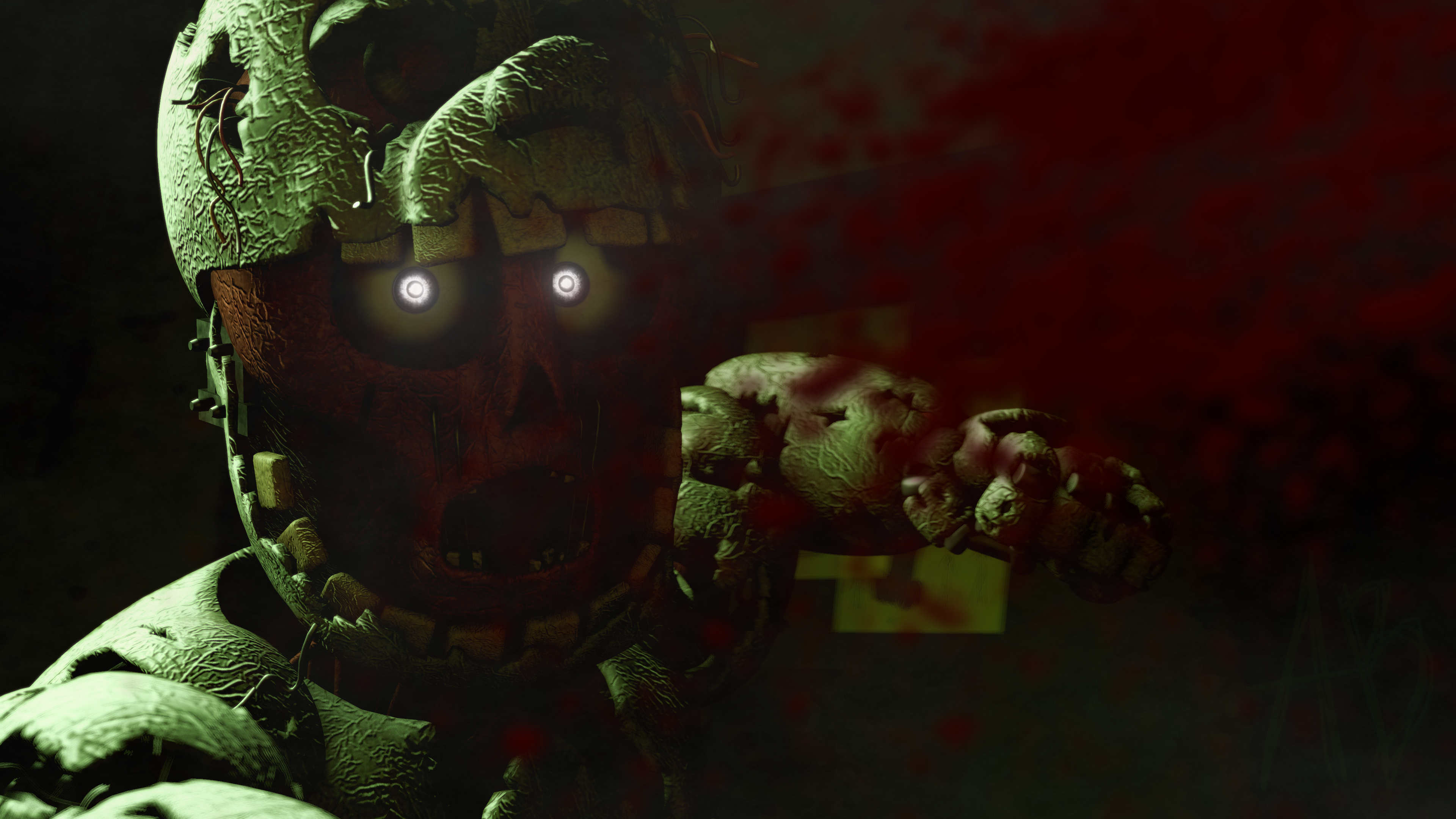 Free Download Five Nights At Freddys 3 4k Ultra Hd Wallpaper