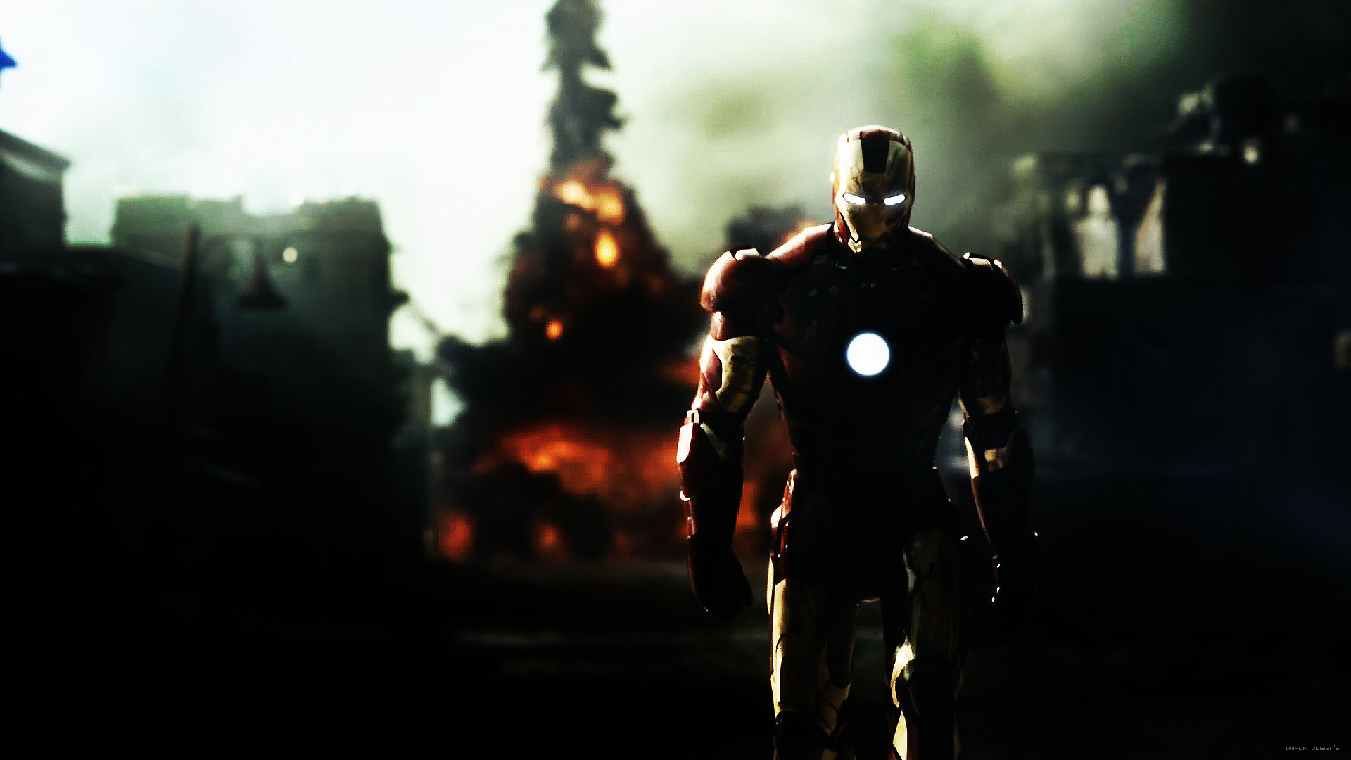 Iron Man HD Wallpaper by DmacKptpng 1920x1080