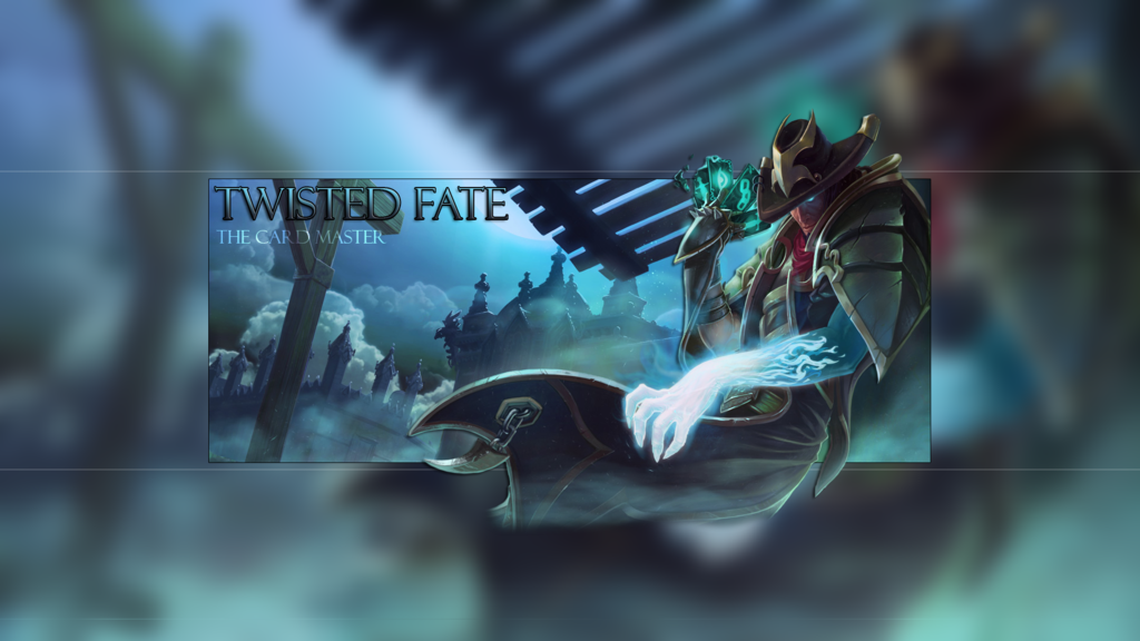 Underworld Twisted Fate Wallpaper   LoL by SmoothMoney 1024x576