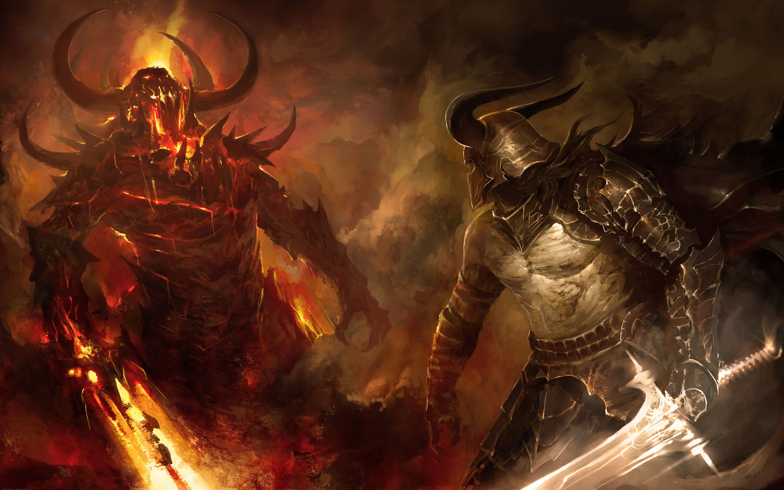 Download Dark Warrior Wallpaper 2560x1600 Wallpoper 222388 2560x1600