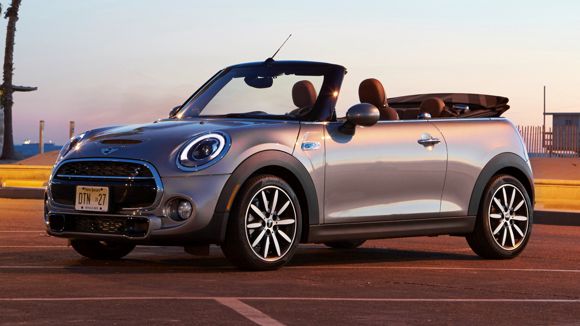 Mini Cooper S Convertible 2016 US Wallpapers and HD 1920x1080
