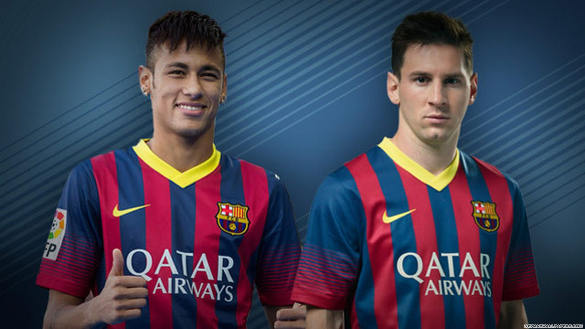 3bc45fd1472 Neymar and Messi wallpaper 2 Neymar Wallpapers 1920x1080