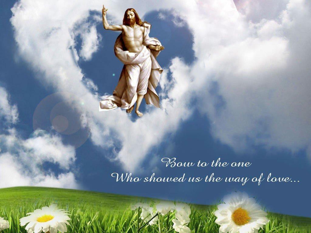 Bible Verse Greetings Card Wallpapers Easter Desktop Wallpaper 1024x768