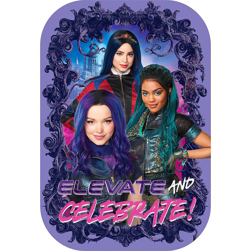 Descendants 3 Invitations 8ct Party City 1000x1000