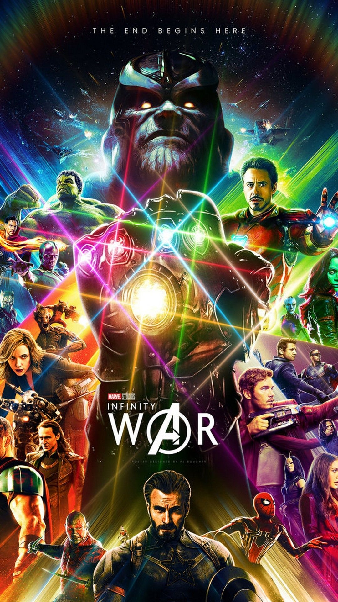 Avengers Infinity War Wallpaper Android Marvel posters Marvel 1080x1920