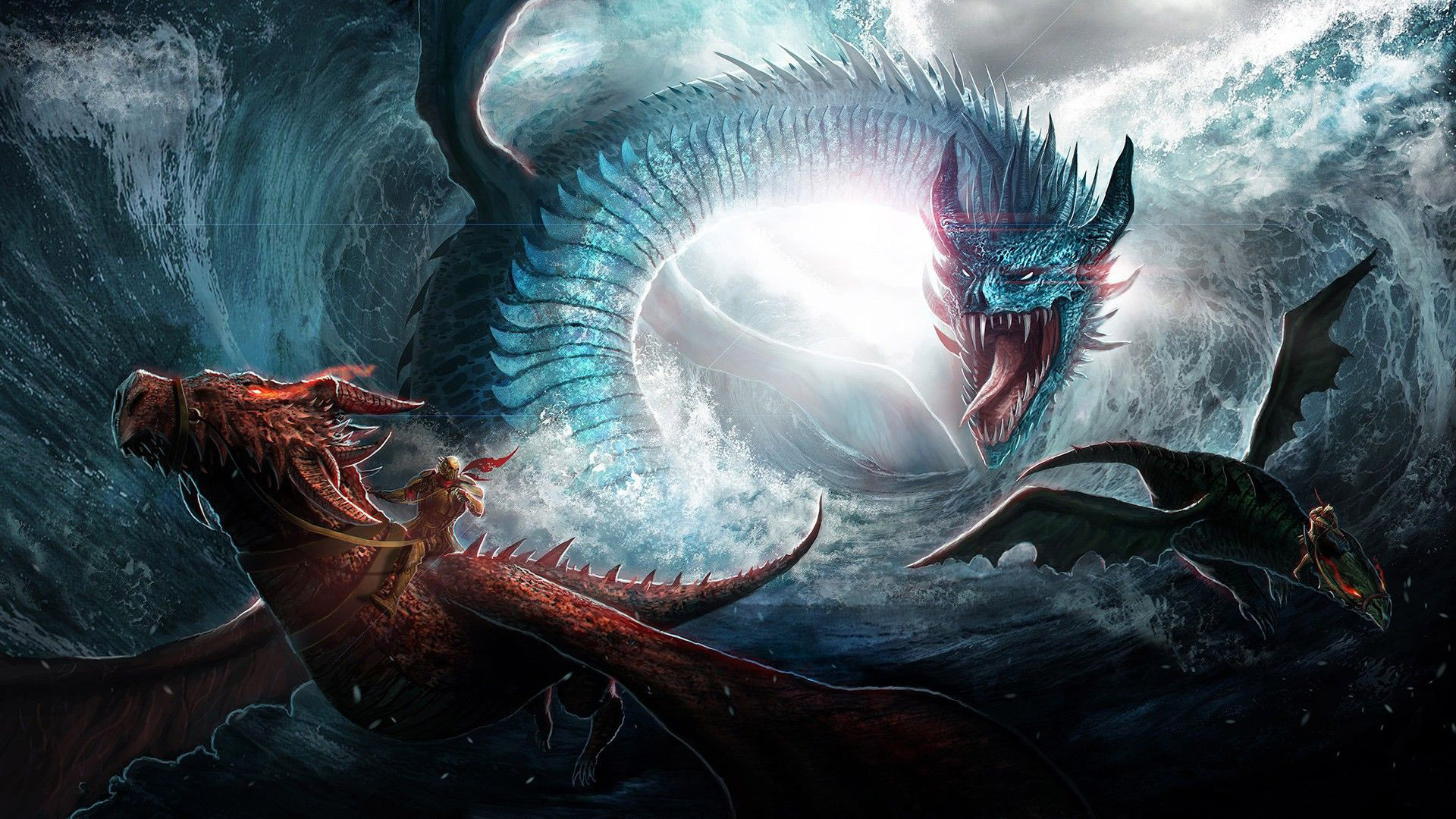 Dragon fight wallpaper   1206353 1920x1080