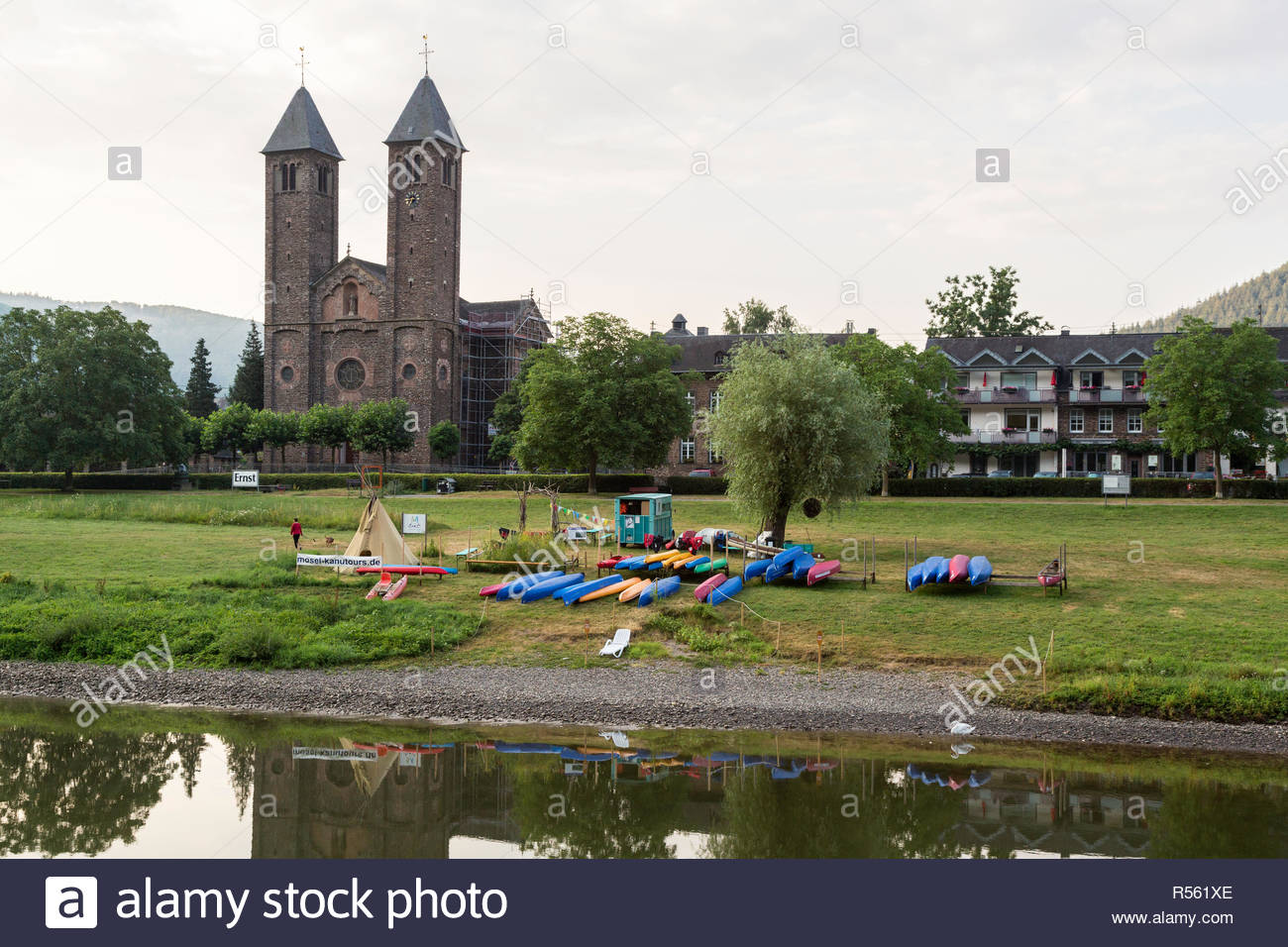 Ernst Germany Saint Salvador Church in Background canoe Rentals 1300x956