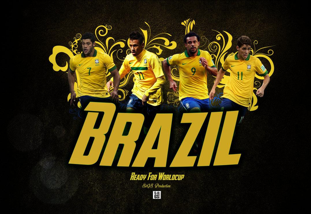 Brazil Football Wallpaper 1077x742
