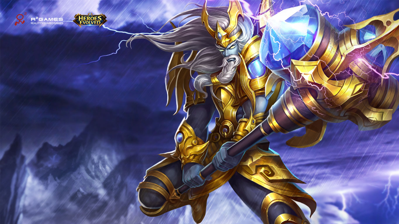 Media Heroes Evolved competitive MOBA 1366x768