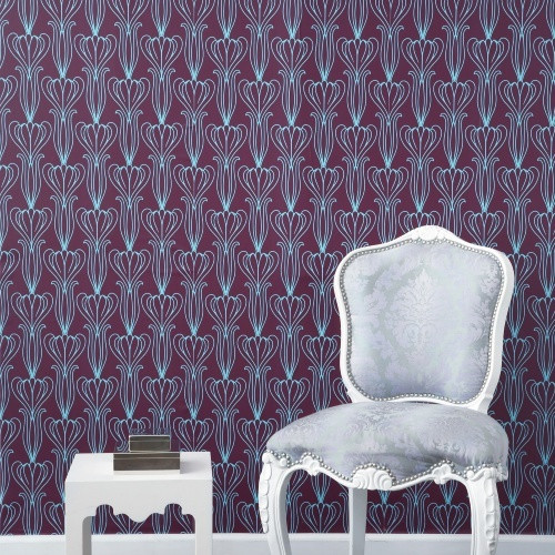 Tempaper Bela Self Adhesive Temporary Repositionable Wallpaper 500x500