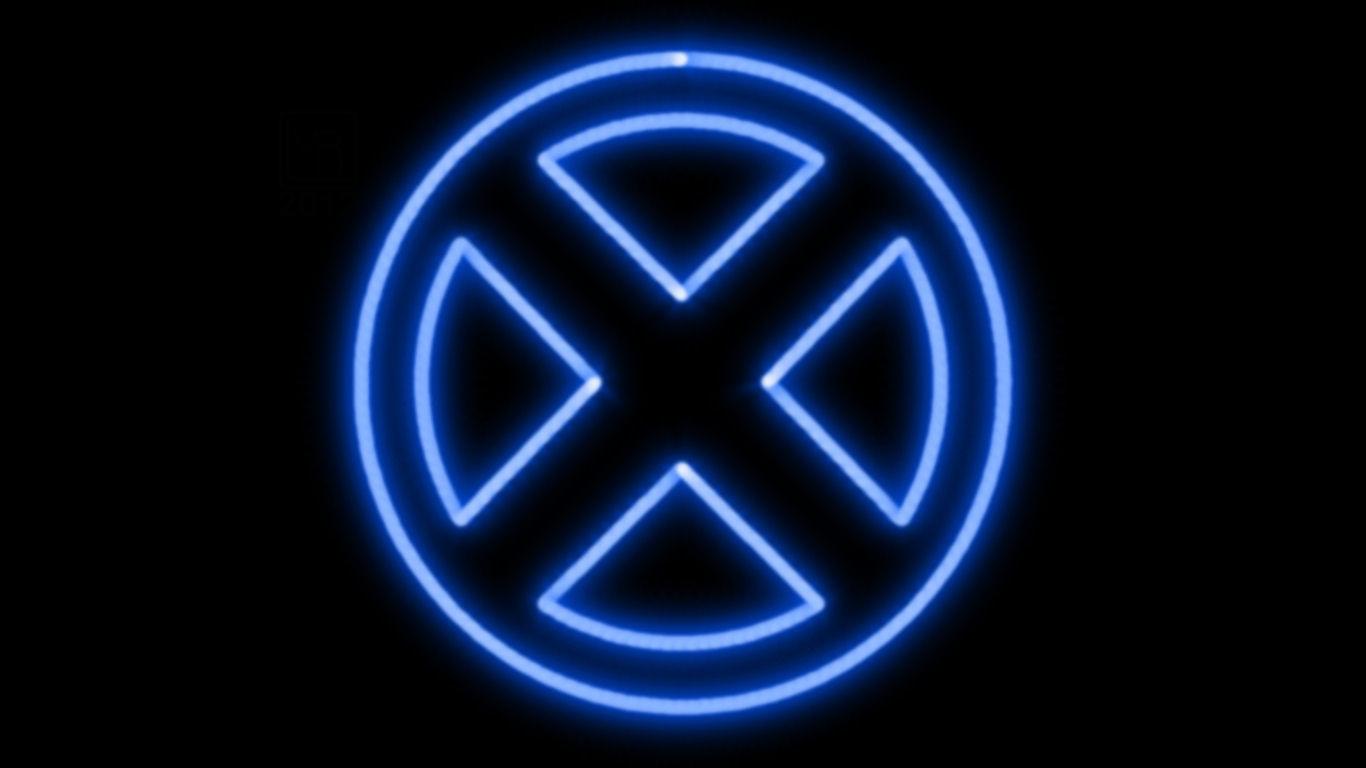 Men Neon Symbol WP by MorganRLewis 1366x768