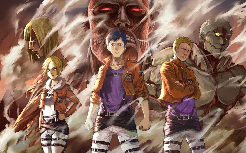 Titan Shifters Attack on Titan Shingeki no Kyojin Anime Wallpaper HD 1440x900