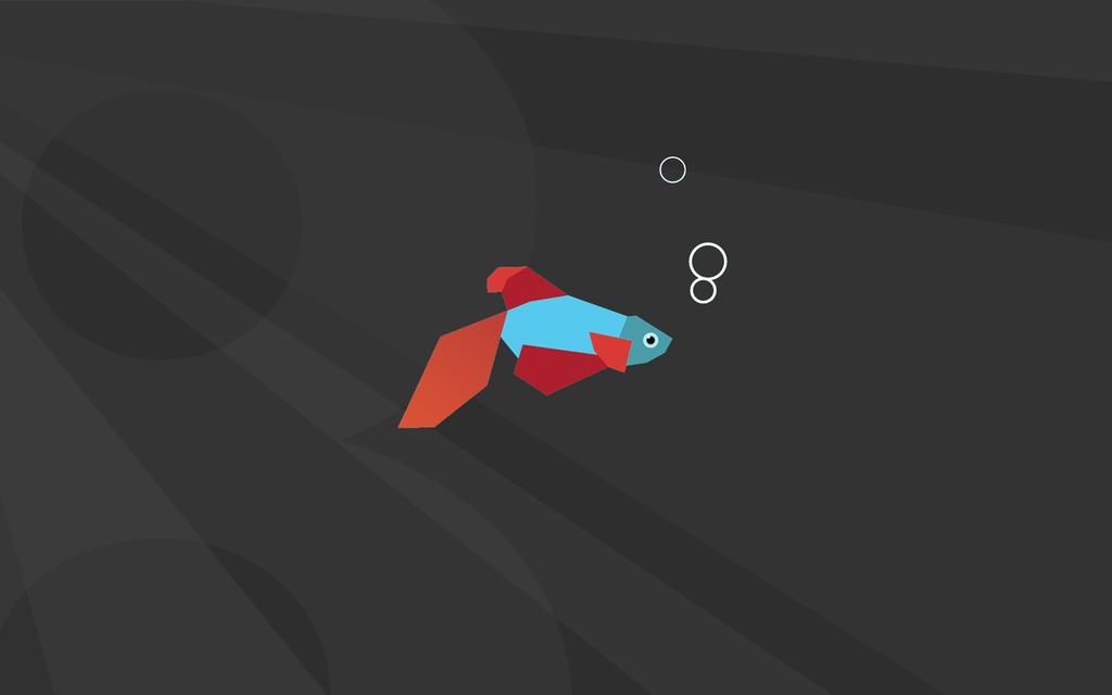 beta demo fish wallpaper 007 dark gr Desktop and mobile wallpaper 1024x640