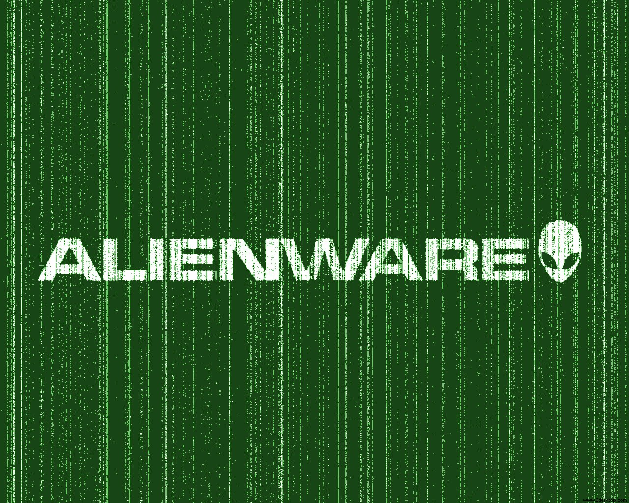 Green Alienware Wallpaper geekpediacom 1280x1024