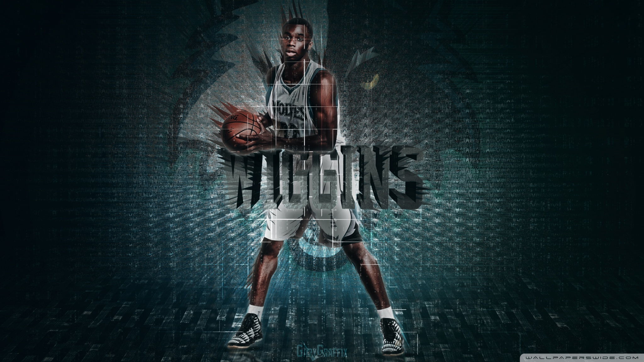 download Andrew Wiggins Timberwolves 4K HD Desktop Wallpaper 2048x1152