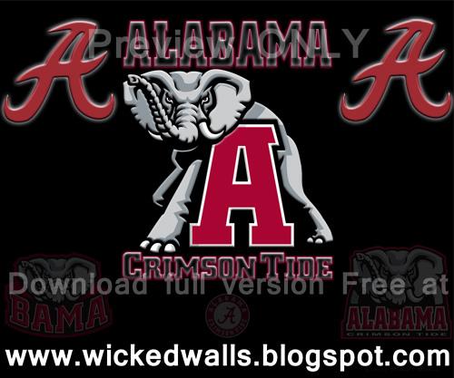 Alabama Crimson Tide Blackened Wallpaper Android All Scree Flickr 500x417