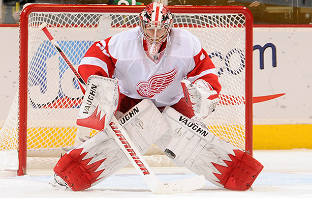 Detroit goalie Jimmy Howard gears up for Stanley Cup run   The Hockey 614x389