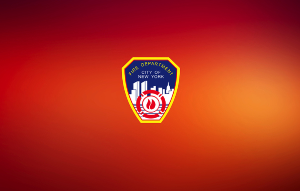 Wallpaper fdny red shield logo wallpapers miscellanea   download 596x380