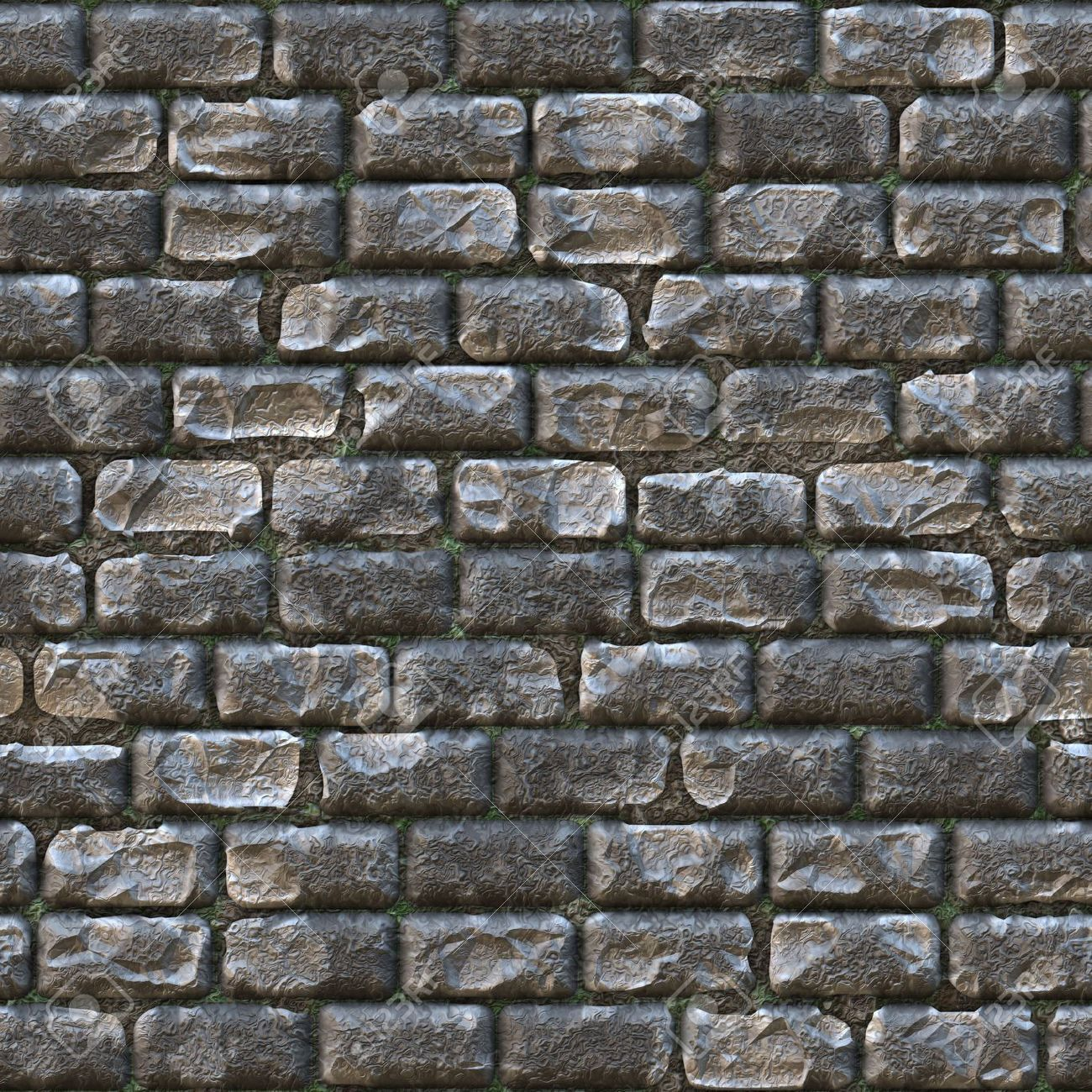 Seamless Stone Brick Wall as Textured Background wall castle 1300x1300
