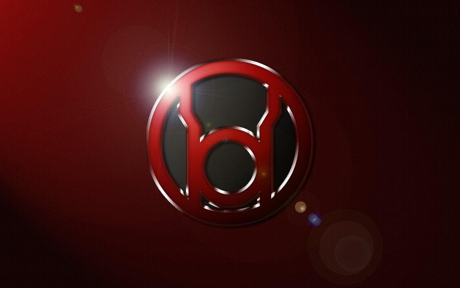 Red Lantern Logo Wallpaper by SUPERMAN3D 900x563