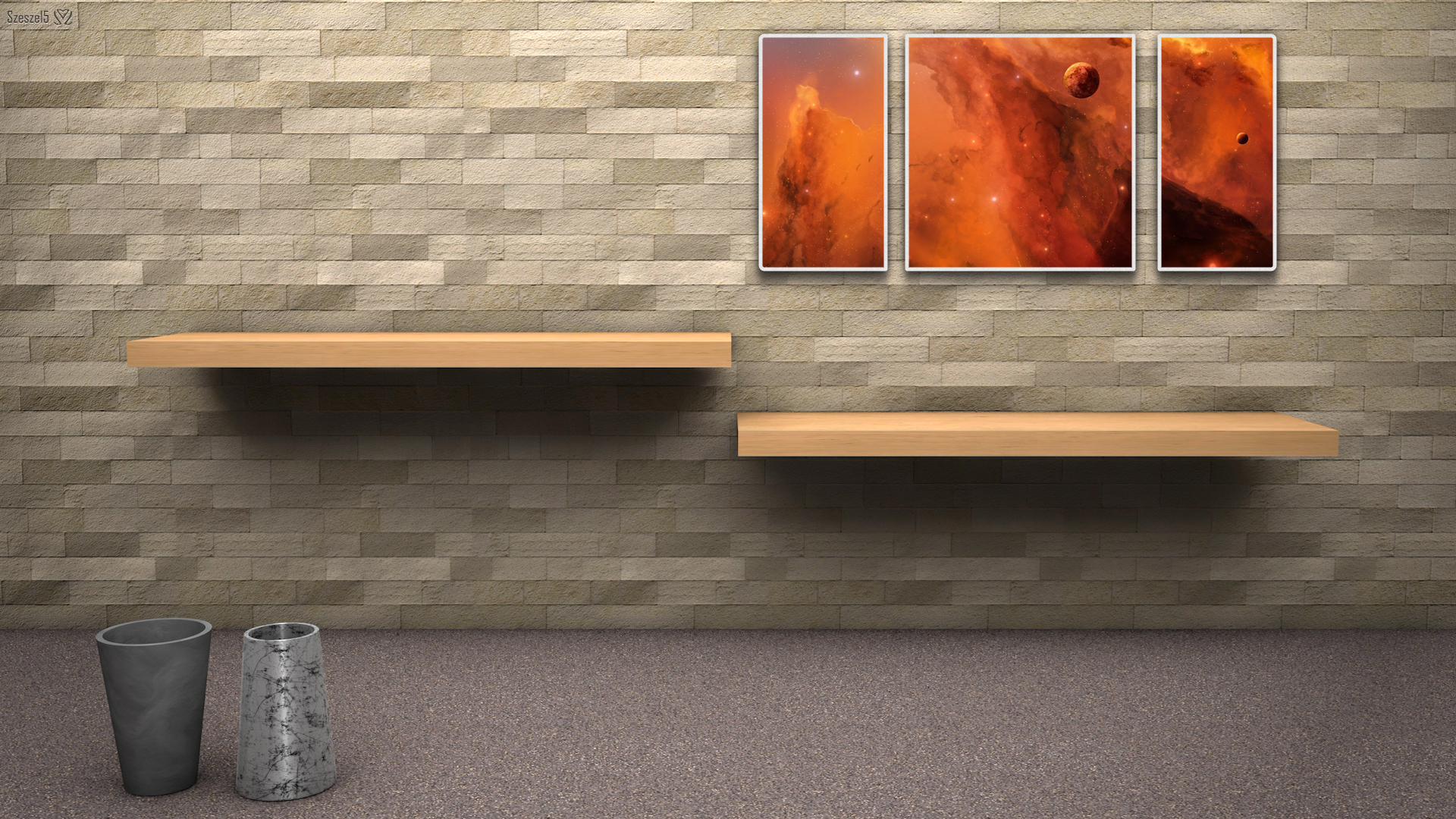 3d room wallpaper - wallpapersafari.