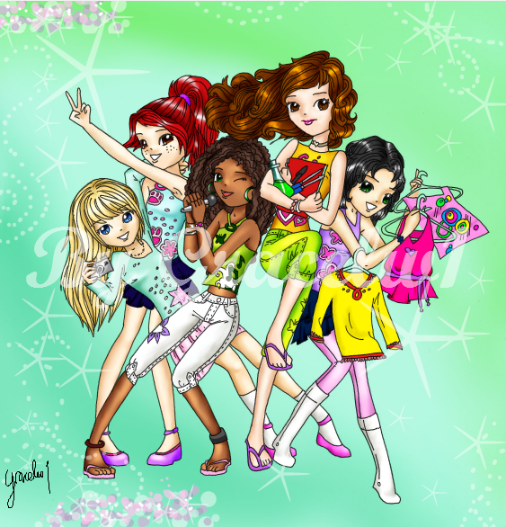 LEGOcom   Gallery   LEGO Friends fan art D 563x586