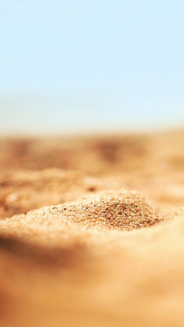 Beach Sand iPhone Wallpaper iPod Wallpaper HD Download 1024 640x1136