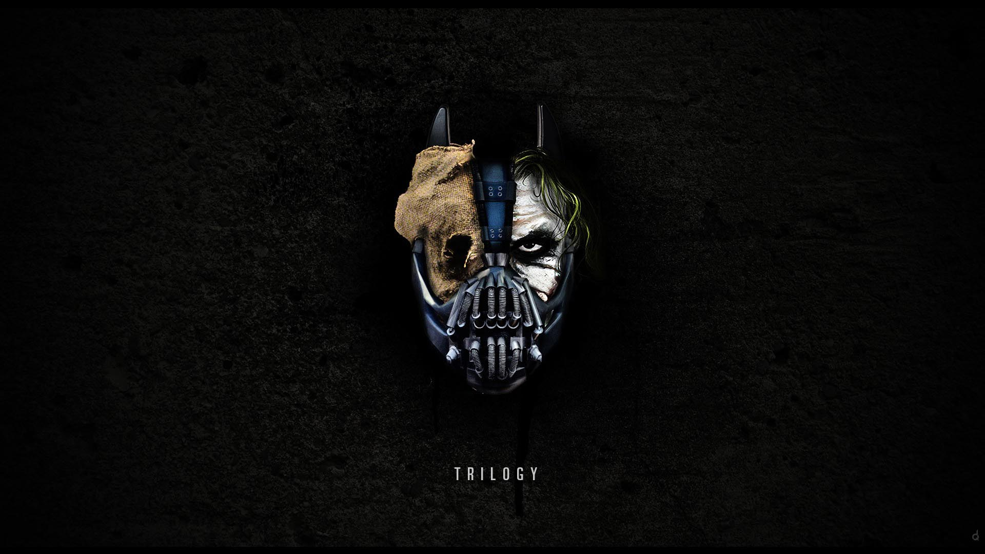 wallpaper morph joker scarecrow batman 1920x1080