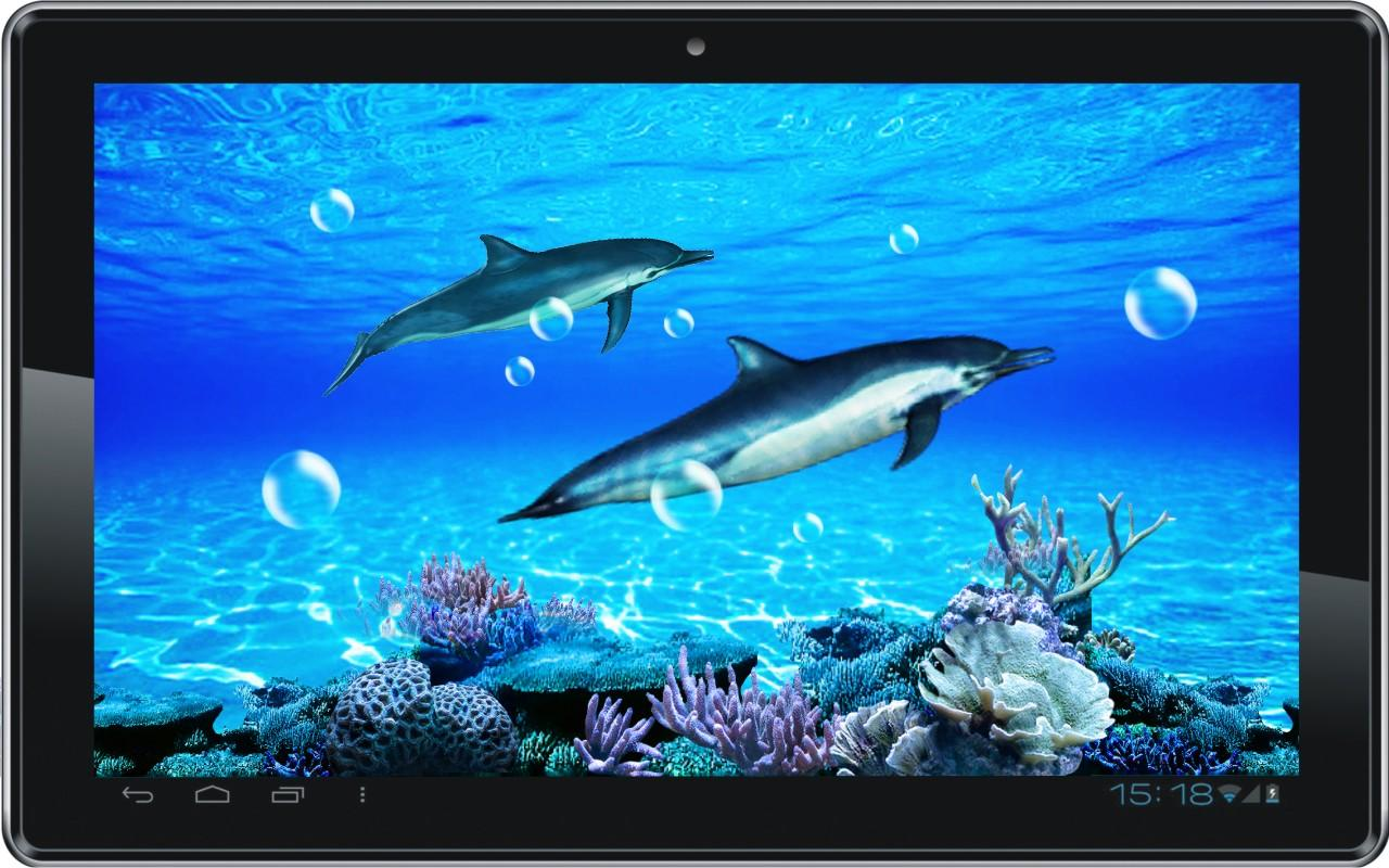 Dolphin Sounds Live Wallpaper   Android Apps on Google Play 1280x800