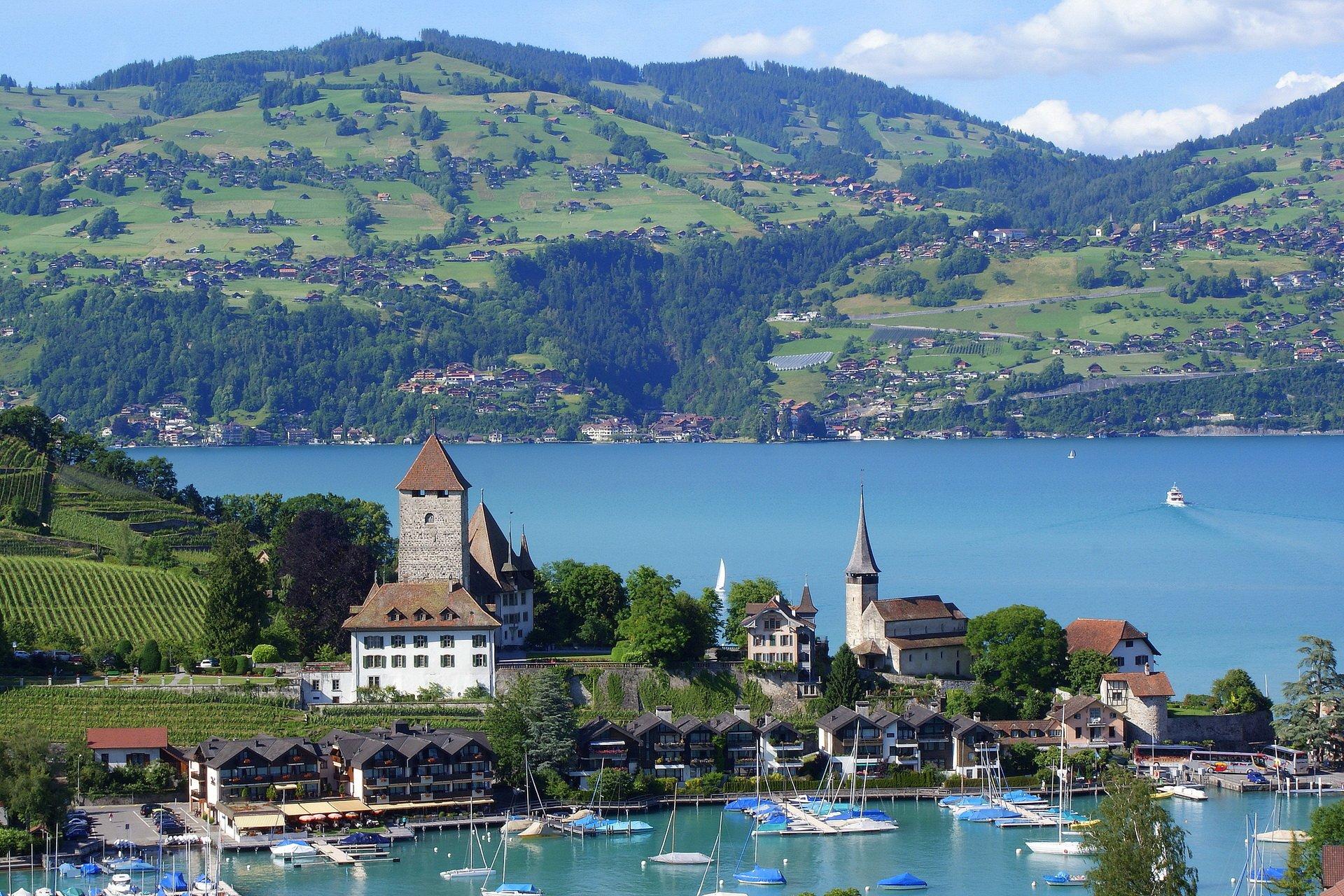 Switzerland Interlaken HD Wallpaper Background Image 1920x1280 1920x1280