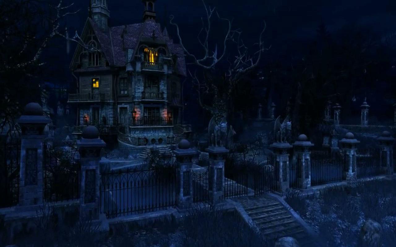 Haunted House live wallpaper   screenshot 1280x800
