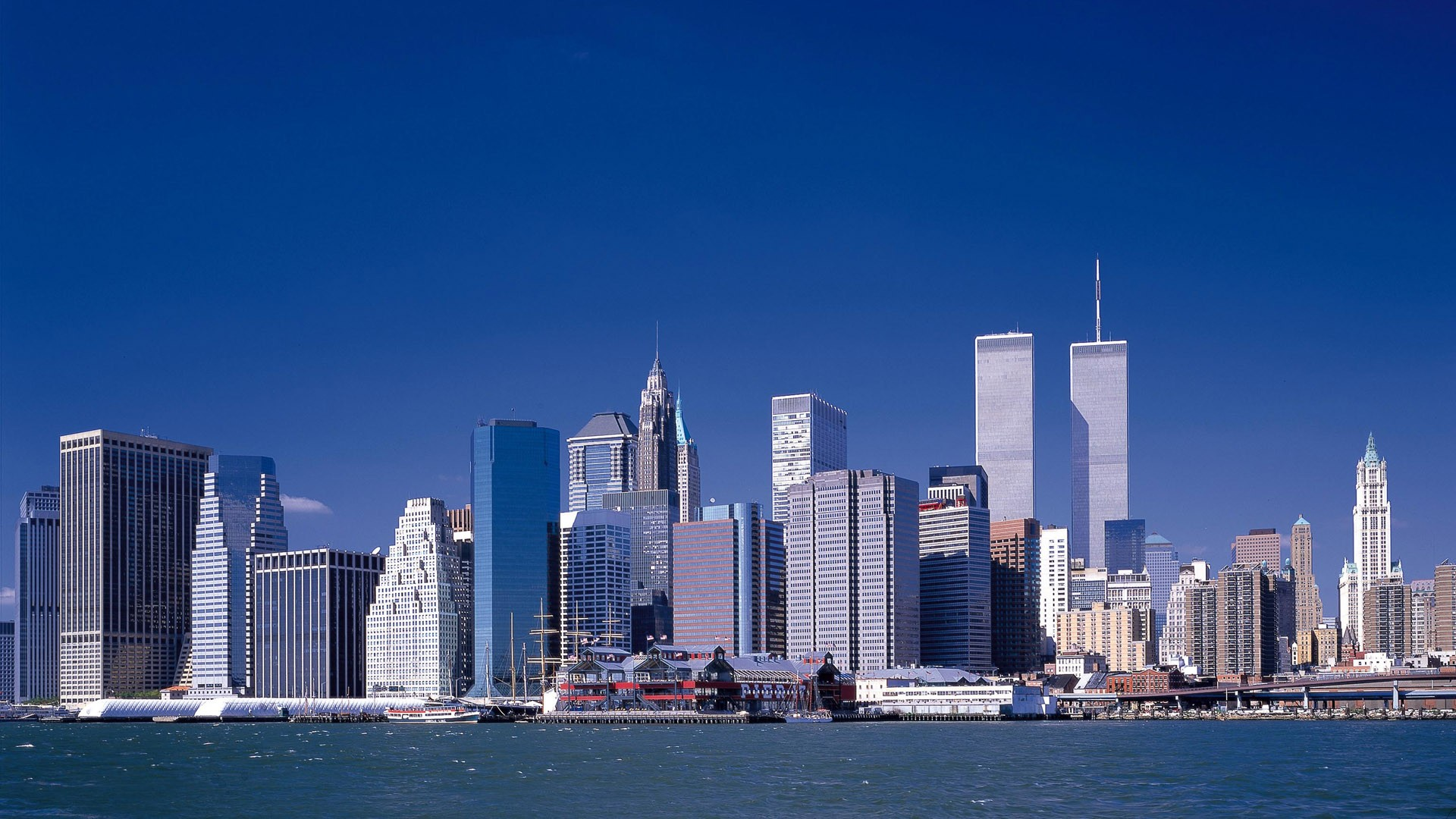 New york buildings wallpaper Wallpaper Wide HD 1920x1080