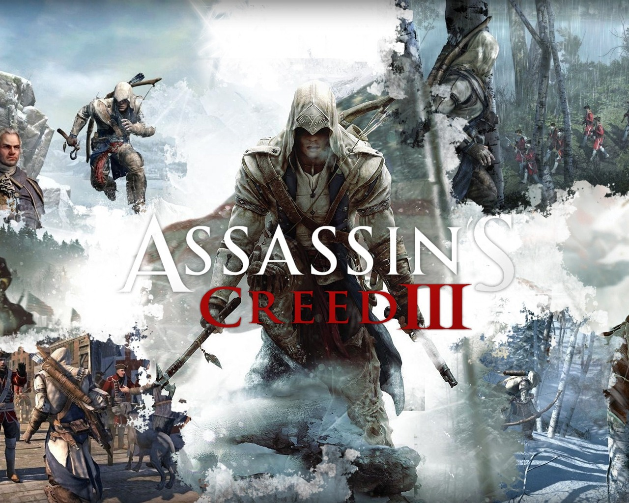 Assassins Creed 3 Game HD Wallpaper 11 Current Size 1280 x 1024 1280x1024