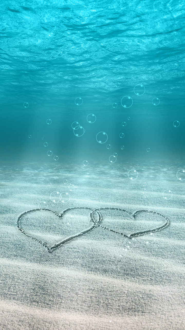 Wallpaper Phone Love Underwater Wallpaper Samsung 720x1280