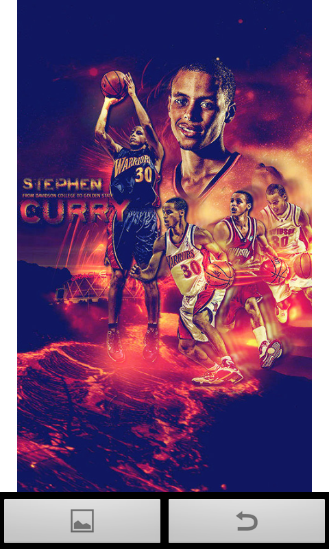 Stephen Curry B screenshot thumbnail 3 480x800