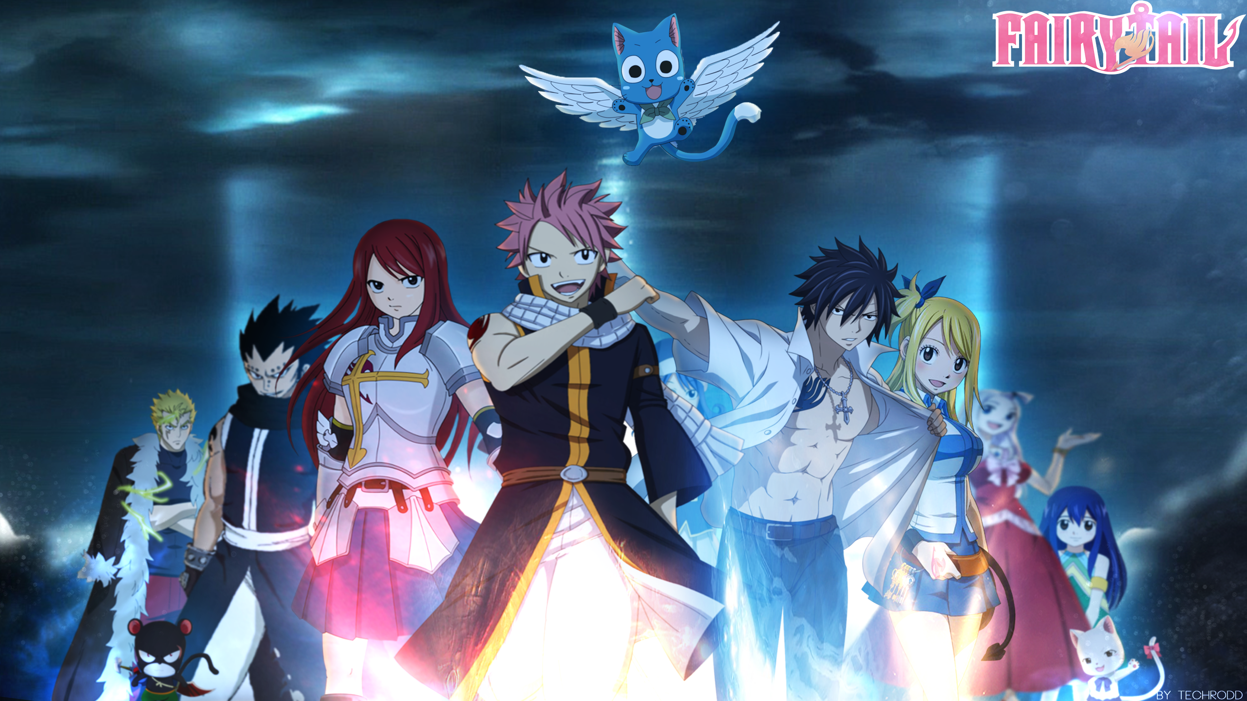 Fairy Tail Wallpaper Windows 87 5934 Wallpaper Cool Walldiskpaper 2560x1440