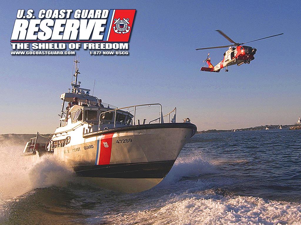 FileUnited States Coast Guard Reserve Desktop Wallpaper   Boat 1024x768