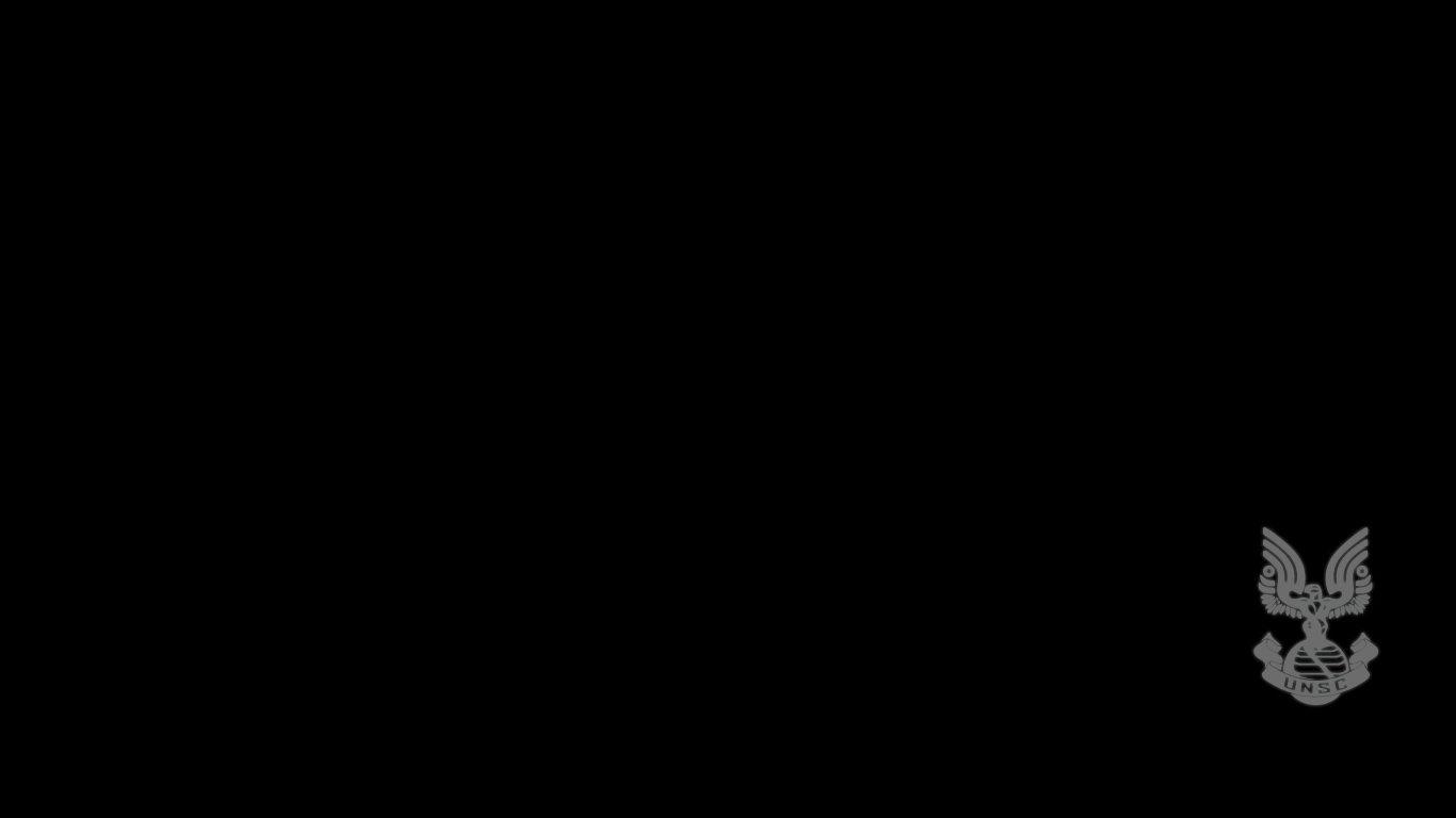UNSC Emblem Wallpaper by NoFinch 1366x768