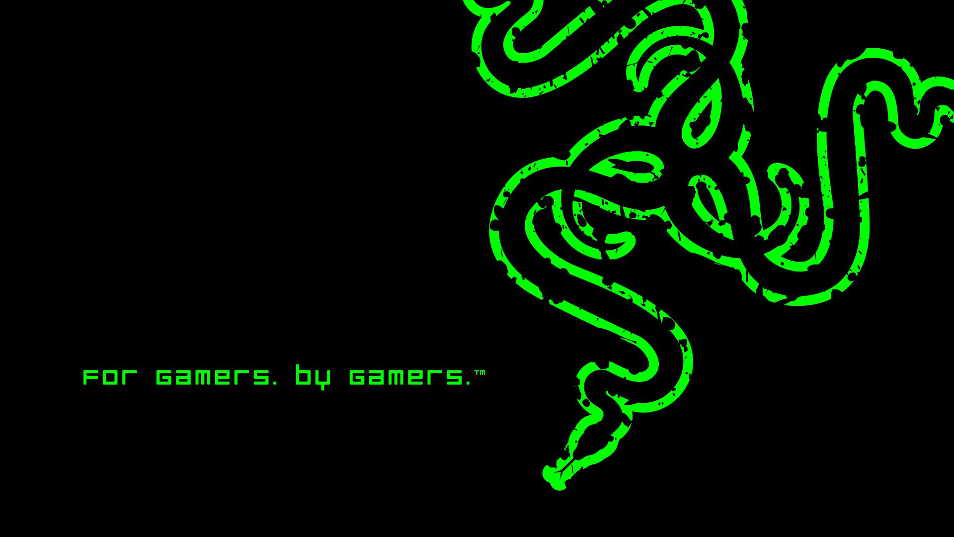 for gamers by gamers black background hd 1920x1080 1080p wallpaper 1920x1080