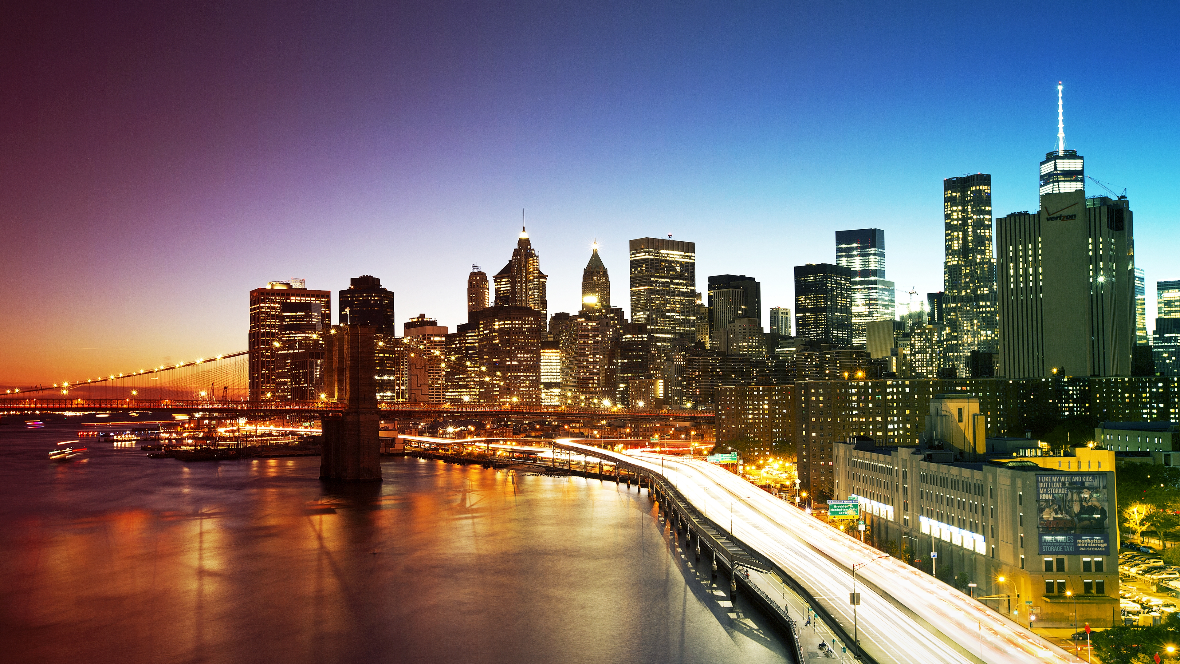 new york city colors uhd wallpapaers   Ultra High Definition 3840x2160