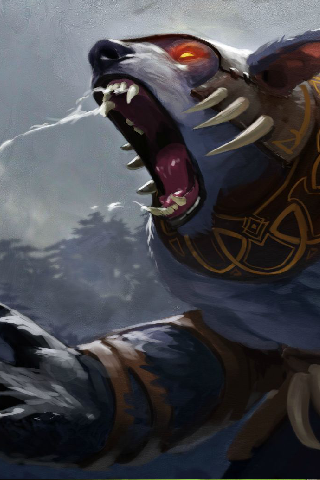 Joseph Slinker Dota 2 iPhone Wallpaper 640x960