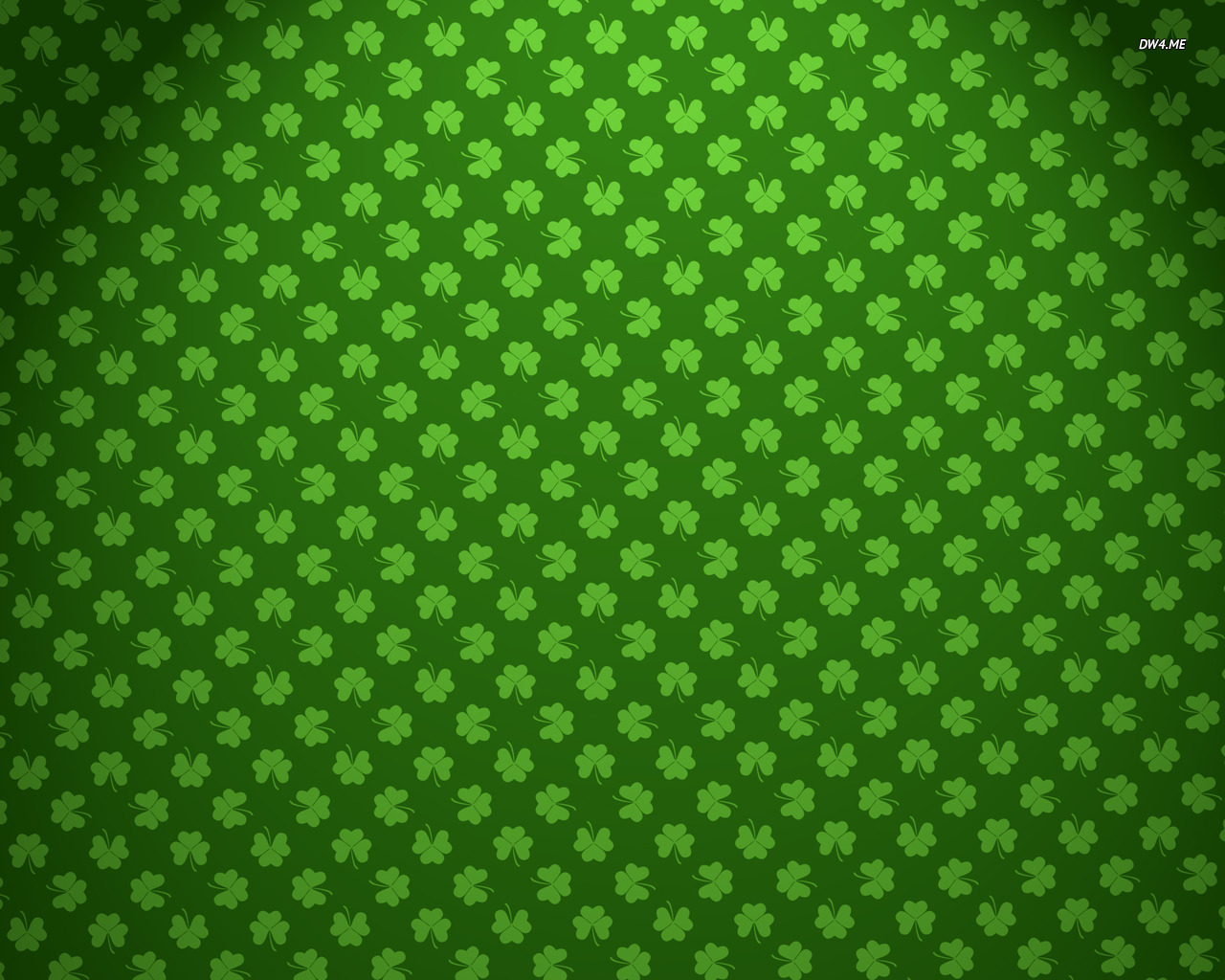 Shamrock pattern wallpaper - Digital Art wallpapers - #1204