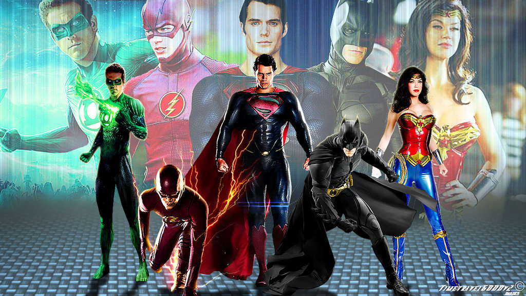Justice League Wallpaper Widescreen by Timetravel6000v2 1024x577
