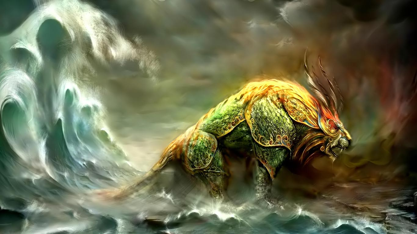 Beast Storms Notebook Backgrounds Wallpaper Full HD Wallpapers 1366x768
